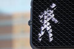 Pedestrian Walk Signal Stock Photos