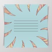 Stock Illustration of Notebook Cover with Place for Your Text