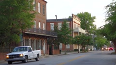 york south carolina white rose city - stock footage