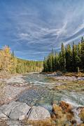 Sheep River, Alberta - stock photo
