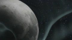 Cosmic rays,Cosmic Wave,solar wind Stock Footage