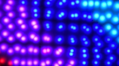 Colorful abstract light pattern Stock Footage