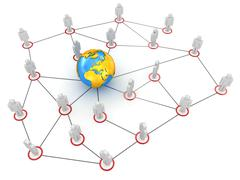 Stock Illustration of Global Communications