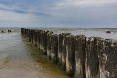 Breakwater - stock photo