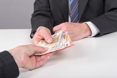 Money transfer Kuvituskuvat