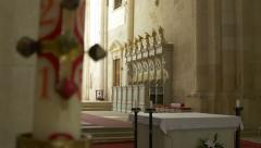 Thrones on the Altar - stock footage