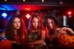 Wicked witches - stock photo