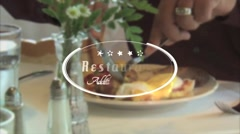 Restaurant Title - Apple Motion 5 and Final Cut Pro X Template Stock After Effects