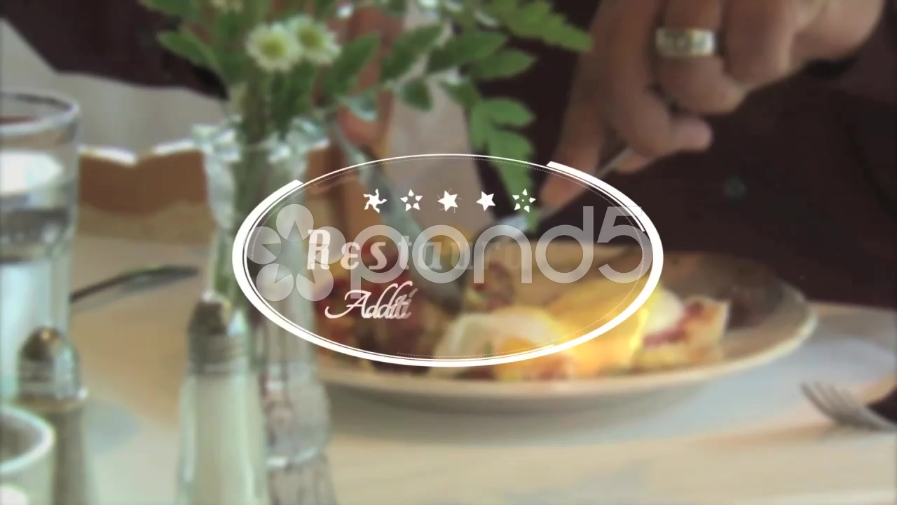 After Effects Project - Pond5 Restaurant Title Apple Motion Template 538423 ...