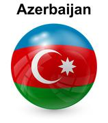 Stock Illustration of azerbaijan official state flag