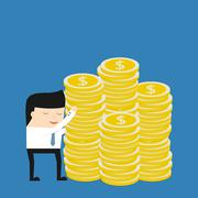 Stock Illustration of Business situation