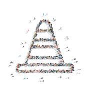 Stock Illustration of people  cone sport cartoon