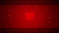 wedding abstract background, frame, loop - stock footage