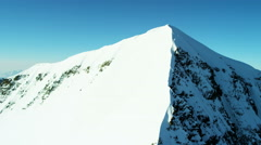 Aerial Switzerland Monch outdoor tourism life summit travel Stock Footage