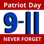 Patriot Day - stock illustration