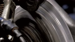 Bicycle Gear And Chain Stock Footage