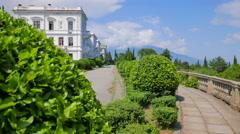 Livadia Palace. Crimea, Summer 2015. Stock Footage