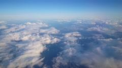 Flying over Norway Scandinavia - stock footage