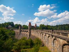 Stock Photo of Historical dam Les Kralovstvi