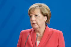Stock Photo of Chancellor of the Federal Republic of Germany Angela Merkel