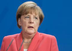 Chancellor of the Federal Republic of Germany Angela Merkel Stock Photos