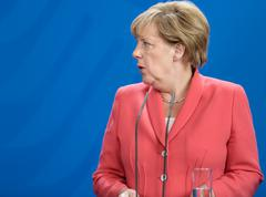Chancellor of the Federal Republic of Germany Angela Merkel - stock photo