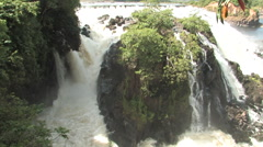Waterfall in Venezuela Stock Footage
