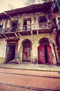 Casco Viejo (Spanish for Old Quarter), also known as Casco Antiguo or San Felipe Stock Photos