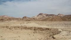 Driving Through the Israeli Desert  Stock Footage