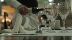 Hotel Dining Tables, Nuevo Vallarta, Nayarit, Puerto Vallarta, Mexico, North Stock Footage
