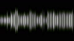 Fancy equalizer abstract - stock footage