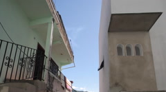 Backstreet in Downtown, Jalisco, Puerto Vallarta, Mexico, North America Stock Footage