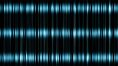 Blue equalizers abstract Stock Footage