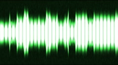 Green and bright equalizer Stock Footage