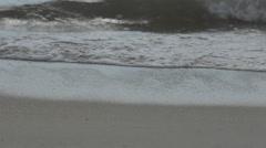 Walkers and Waves on the Beach, Nuevo Vallarta, Nayarit, Puerto Vallarta, Stock Footage