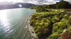 New Zealand aerials 4K. Stock Footage