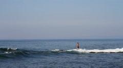 Seashore in Primorsky region of Russia Stock Footage