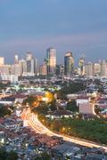 Jakarta cityscape Stock Photos