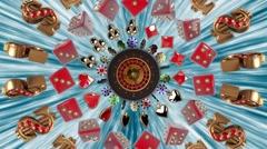 Casino VJ Loop Arkistovideo
