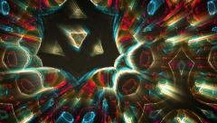 Stock Video Footage of Colorful spiritual abstract
