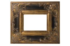 Stock Photo of Spanish Baroque Frame