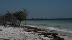 Seascape in Dunedin, Florida. Stock Footage
