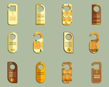 Farm Fresh brand Door Badges Set Piirros