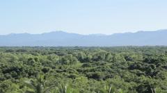 View inland, Nuevo Vallarta, Nayarit, Puerto Vallarta, Mexico, North America Stock Footage
