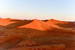 Namib Sand Sea - Namibia - stock photo