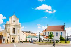 St. Joseph Church in Minsk, Belarus - stock photo