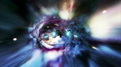 Wormhole Spaceship 1 Stock Footage