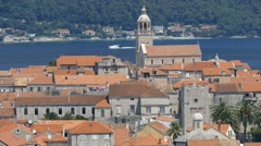 Mediterranean Town On the Seashore - Ancient Town - Game Of Thrones City Stock Footage