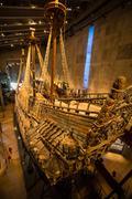Vasa Museum in Stockholm, Sweden. - stock photo