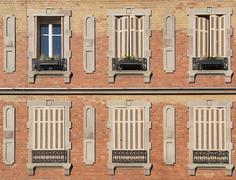 Stock Photo of house facade in Colmar